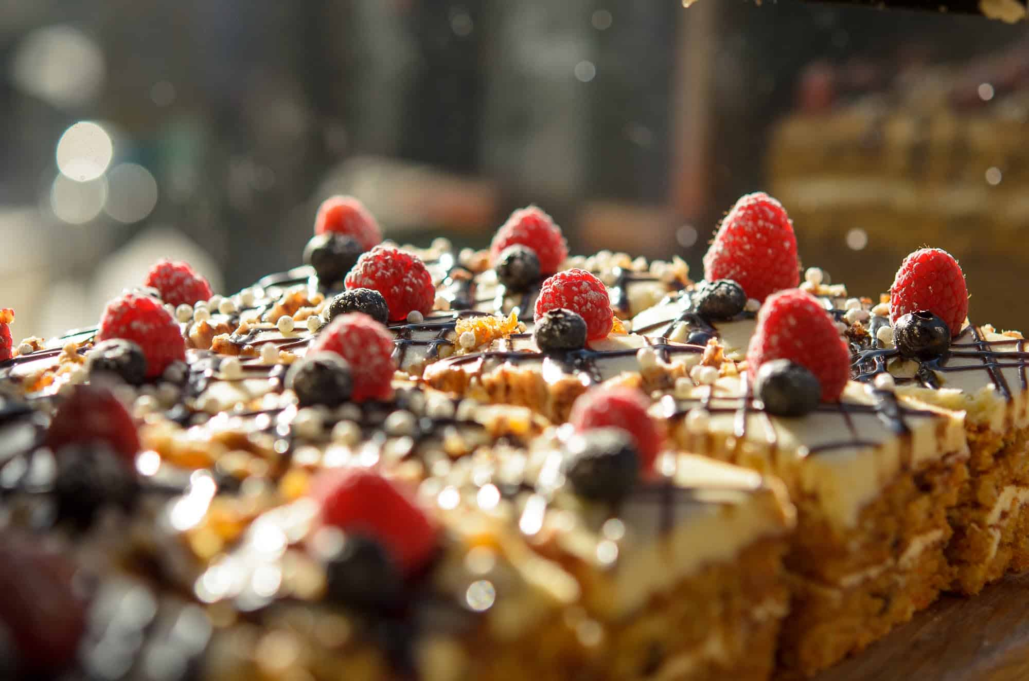 Tray bakes in the sunshine of Southern Cross Cafe