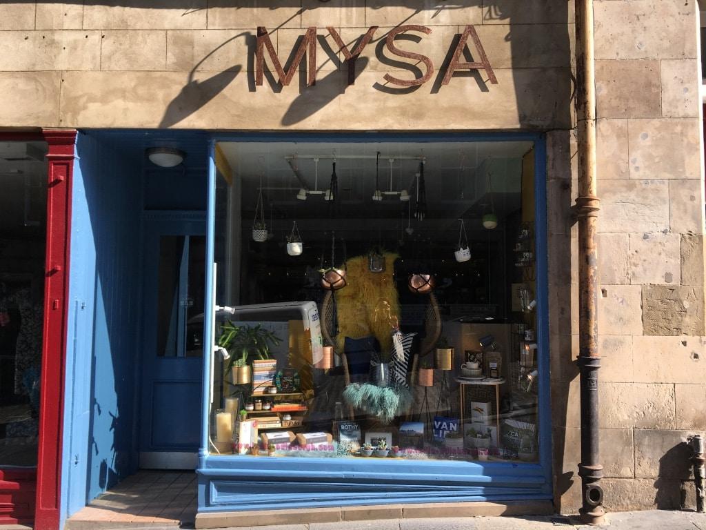 Mysa is a gift and homewares shop on Cockburn Street.