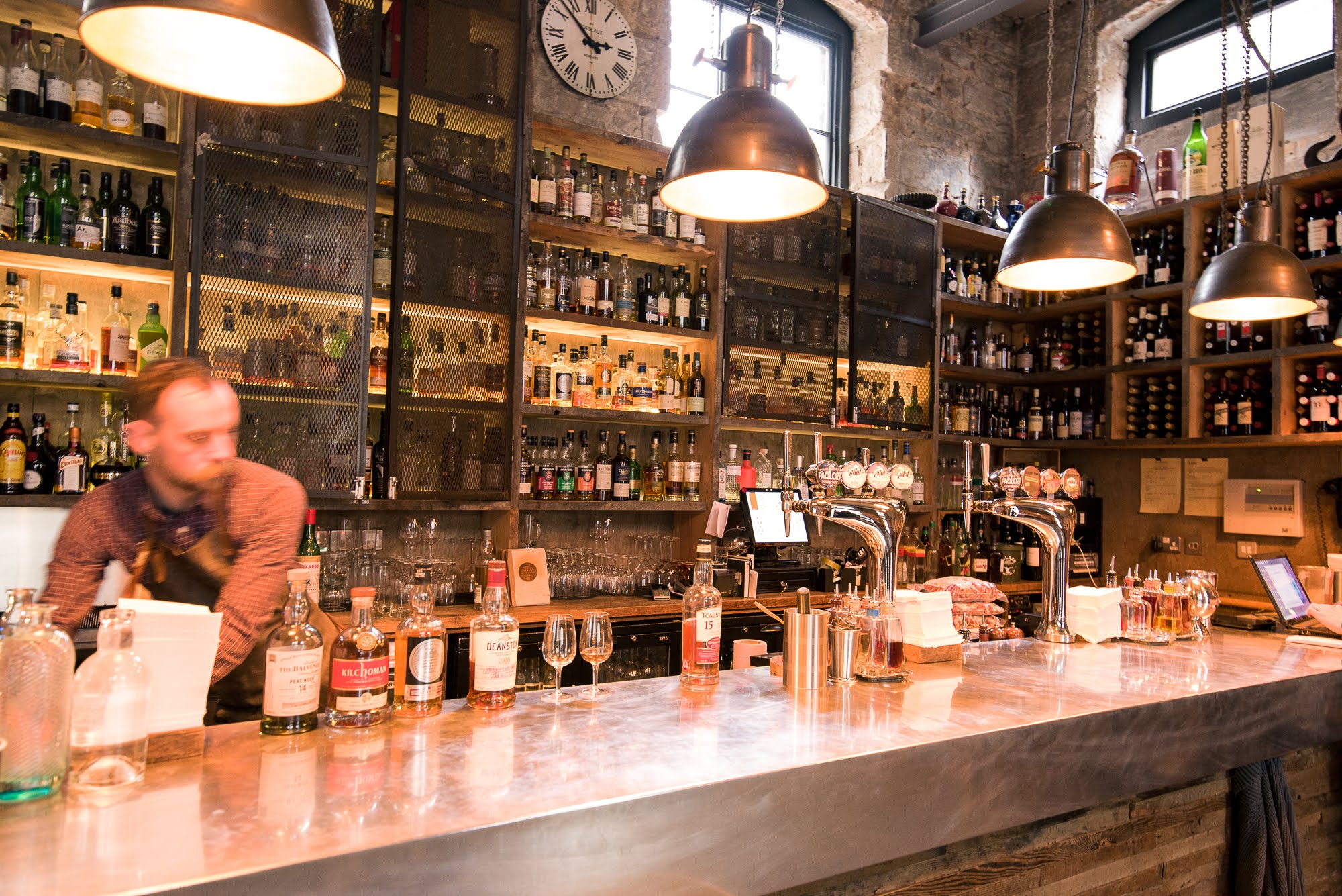 Devil's Advocate is home to over 300 World and Scotch Whiskies