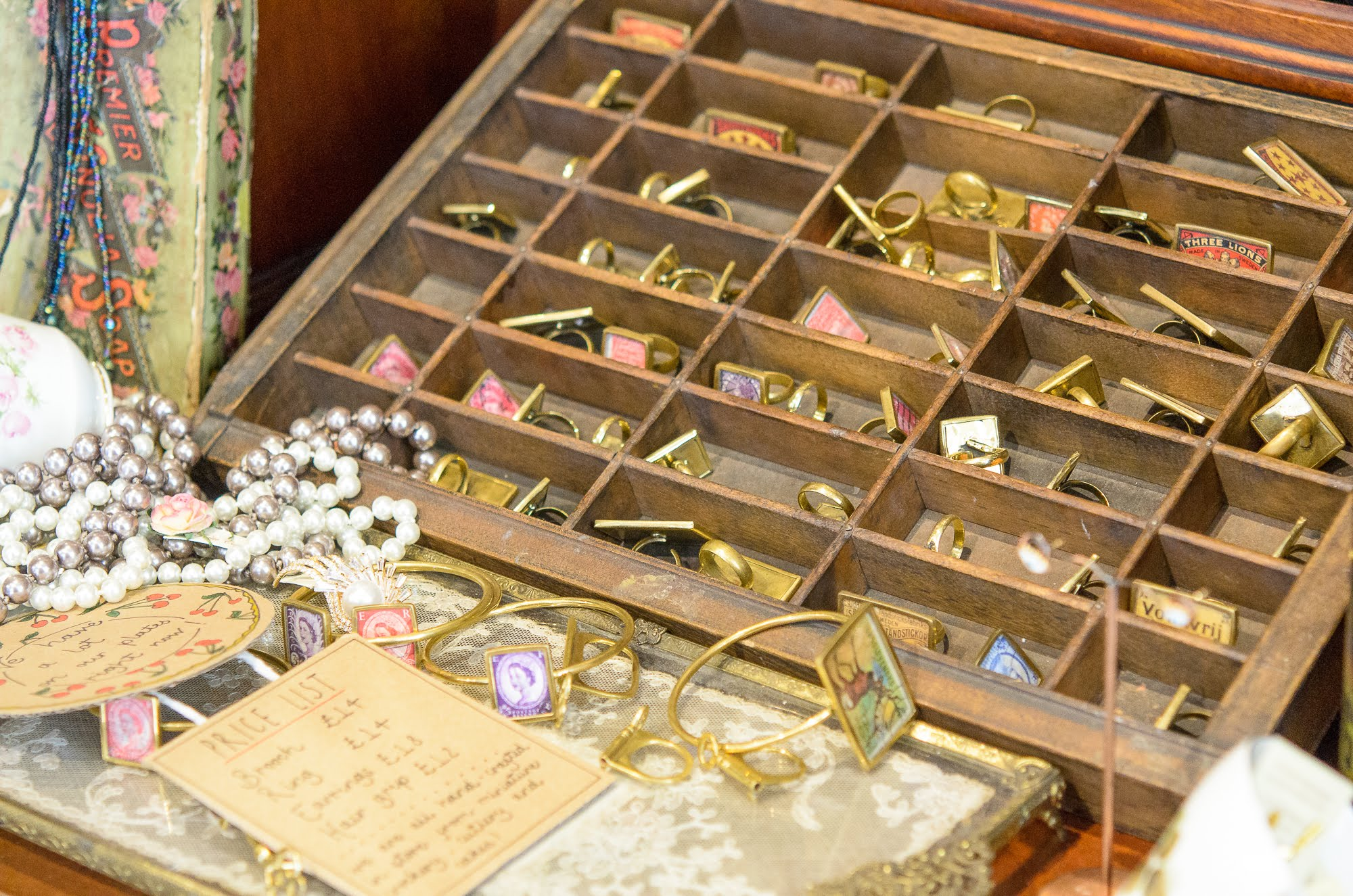 Bespoke and custom jewellery in Miss Katie Cupcake